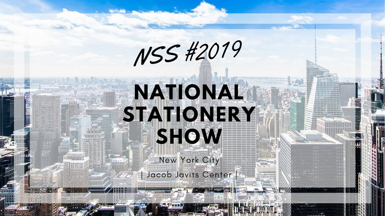 2019  The National Stationery Show  information, Syncmen will be there to meet you guys!