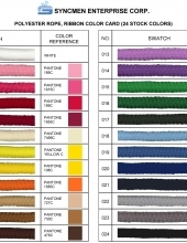 Rope Handle Color Card