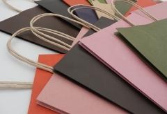 high quality stock brown kraft paper bag