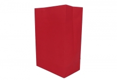 white kraft paper counter bag for food or grocery