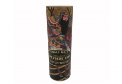 customized design round paper tube for wine