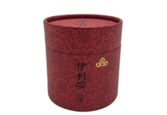 round paper tube with foil stamping
