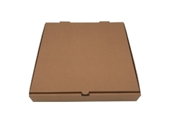 corrugated paper box for pizza packaging