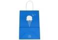 Syncmen-Dessert shop cute style white kraft paper bag-2