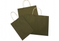 High quality stock brown kraft paper bag-3 size