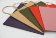 High quality stock brown kraft paper bag-various colors
