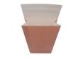 Environmental stone paper counter bag- top view