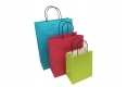 In stock cheap paper bags with twisted paper handle-
