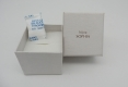 Jewelry paper box with desiccant and foam-2